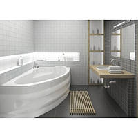 Ванна акрилова асиметрична Alpina права 170х110 (панель + каркас)