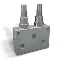 Двусторонние предохранительные клапаны трубного монтажа VMPD (G3/8, G1/2), фото 1