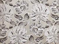 Мебельная ткань   жаккард SILVIA GREY 06 (производство Аппарель)