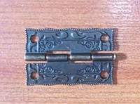 Петля декоративная для шкатулки нард 36х23 мм