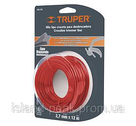 Струна для тримера 2,7мм 15м - Truper