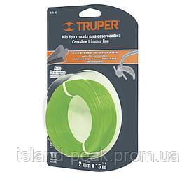 Струна для тримера 2мм 15м - Truper