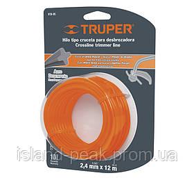 Струна для тримера 2,4мм 15м - Truper
