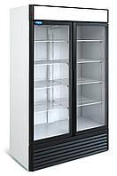 Шкаф холодильный универсальный распашной стеклянный Капри (1,12УСК 1,5УСК)