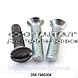 Винт с полупотайной головкой стальной, от М2 до М12, ГОСТ 17474-80, DIN 964, DIN 966, ISO 2010, ISO 7047, фото 4