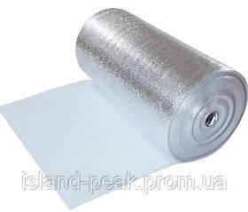 Фольгированный изоляционный материал с самоклеющимся слоем Изолон 100 (air) - толщина полотна 5 мм.