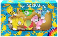 Мобиль в кроватку с мягкими игрушками KI-903