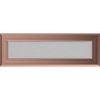 Решетка для камина оскар медный, оскар золото 11х32 см