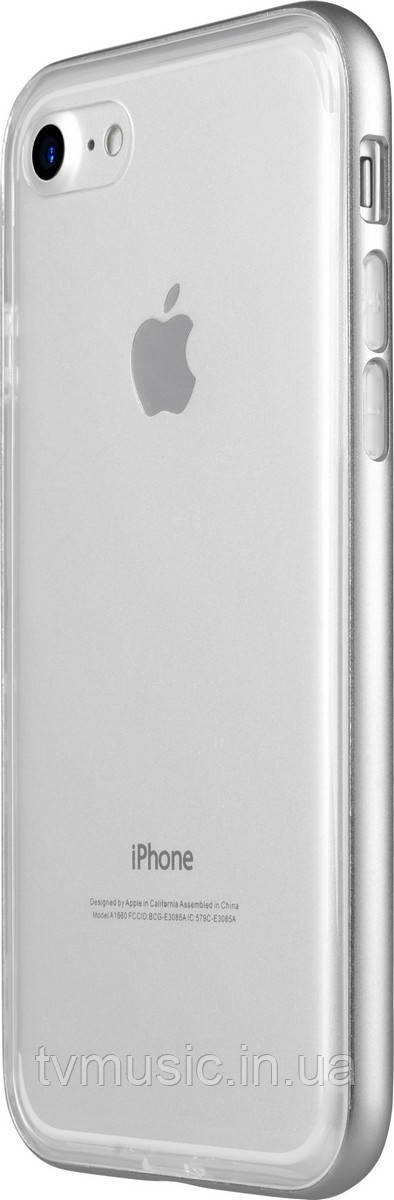 Чехол для мобильного телефона Avatti Mela Double Bumper Silver для iPhone 7