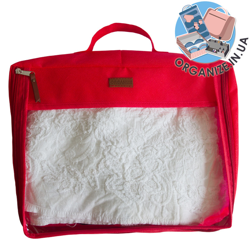 Упаковочная сумка для вещей ORGANIZE (красный)