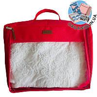 Большая дорожная сумка для вещей ORGANIZE (красный)