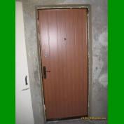 Входная дверь внутренняя отделка евродоской