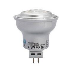 LED лампа MR16 (GU5.3) 4,5W (270 Lm) 4000K 12V AC/DC Viribright (Вирибрайт)