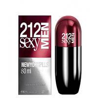 Carolina Herrera 212 Sexy Men Pills edt 80 ml. m Люкс лицензия