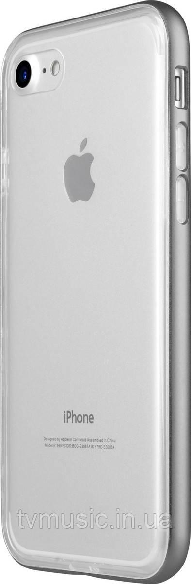 Чехол для мобильного телефона Avatti Mela Double Bumper Grey для iPhone 7