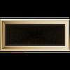 Решетка для камина оскар медный, оскар золото 17х37 см без жалюзи