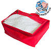 Средняя дорожная сумка для вещей ORGANIZE (красный)