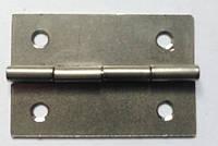 Петля завис  для  нард 35х23 мм цвет серебро