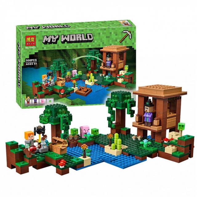 аналог Lego Майнкрафт Minecraft