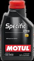 MOTUL Specific 229.52 SAE 5W30 (5L)