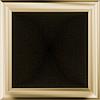 Решітка для каміна оскар мідний, оскар золото 22х22 см без жалюзі