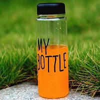 Пляшка My Bottle + чохол / Бутылка My Bottle + чехол
