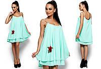 Легкое летнее платье-трапеция Ассоль (в расцветках)