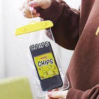 Водонепроникний Чохол Chips / Водонепроницаемый Чехол Чипсы
