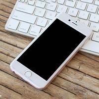 Пластиковый чехол+стекло Полная защита Прозрачный для IPhone 7