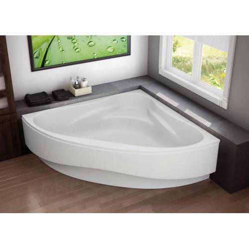 Ванна акрилова кутова Riviera 150х150 (панель + каркас) Bliss
