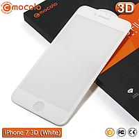 Защитное стекло Mocolo iPhone 7 (White) 3D