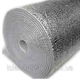 Изоляционный материал Izolon 300 (base) фольгированный с 2-х сторон - толщина полотна 4 мм.