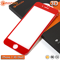 Защитное стекло Mocolo iPhone 7 (Red) 3D