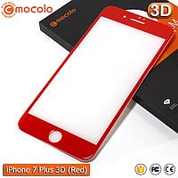 Защитное стекло Mocolo iPhone 7 Plus (Red) 3D