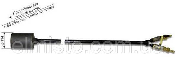 Горелка «ДОНМЕТ» 275 для нагрева под наплавку и сварку, 12/12 с принудительной подачей сжатого воздуха