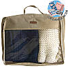 Большая дорожная сумка для вещей ORGANIZE (бежевый)