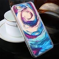 Пластиковый чехол Dreamcatcher Vortex Blue Синий для iPhone 6/6s