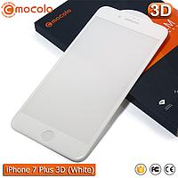 Защитное стекло Mocolo iPhone 7 Plus (White) 3D