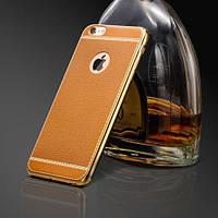 Силиконовый чехол под кожу Оранжевый для iPhone 6/6s