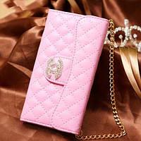 Чехол Chanel клатч Светло-Розовый для iPhone 6/6s