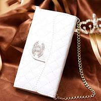 Чехол клатч Белый для iPhone 6/6s