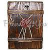 Деревянная икона Спасителя «Спас Нерукотворный», 17х13 см (814-1017), фото 3