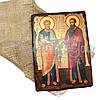 Деревянная икона Святых Петра и Павла, 17х23 см (814-2047), фото 2