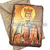Деревянная икона Святая Людмила, 17х23 см (814-2056), фото 2