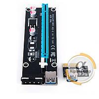 Райзер PCI-E MOLEX→SATA + USB3.0 (ver.06)