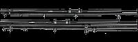 Карповик Mesh Pro Carp Rod, 12', 3,50lb, #50, 2 sections
