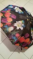 Зонт Тюльпаны полуавтомат женский