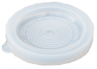 Крышка полиэтиленовая (термо)  прозрачная Юнипласт