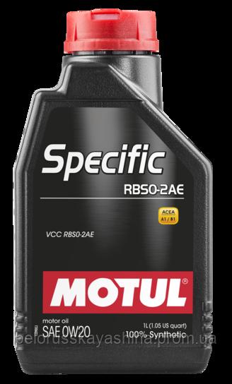 MOTUL Specific RBS0-2AE SAE 0W20 (1L)
