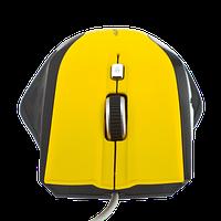 Мышка LogicFox LF-MS043 желтый + чёрный